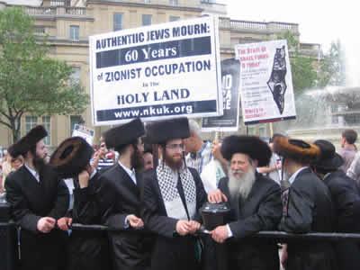 Neturei Karta, contro -celebrazione del 60° anniversario di Israele.